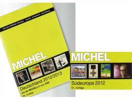 MlCHEL Deutschland+ Süd-Europa 2012/2013 Stamp Katalog Neu 102€ Germany And Part 3 With: D I YU Malta SLO AL SRB Vatikan - Lexiques
