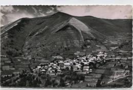 CPSM 38  HUEZ EN OISANS VUE GENERALE ET LE SIGNAL DE VILLARD RECULAS - Autres Communes