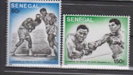 SENEGAL     1977     N°  454/455     COTE   2.75      EUROS     (1163 ) - Senegal (1960-...)