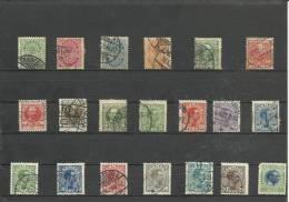 1913-1923 Denmark Lot - Usati