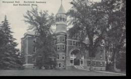 Massachusetts East Northfield Marquand Hall Northfield Seminary  Albertype - Unclassified