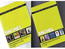 MlCHEL Deutschland + West-Europa 2012/2013 Stamp Katalog Neu 102€ Germany And Part 6 With: D B Eire Lux Jersey NL UK Man - Lexiques