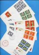 Suisse, Switzerland, Schweiz, R-FDC 1962, Pro Juventute - FDC