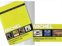 MlCHEL Deutschland + Ost-Europa 2012/2013 Stamp Katalog Neu 102€ Germany And Part 7 With: D Russia SU PL UA Weißrußland - Lexiques