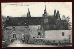 Cpa Du  35 Châteaugiron Château Du Bois Orcan Et La Chapelle  XV  Siècle    BHU15 - Châteaugiron