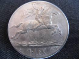 Coin 1 Lek Albania(Shqipni) 1931 Alexander The Great - Albanië