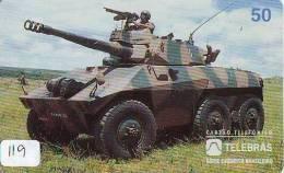 Télécarte WAR TANK (119)  MILITAIRY LEGER ARMEE PANZER Char De Guerre * KRIEG * Phonecard Army * - Army