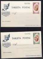 ESPAGNE - ENTIER POSTAUX N° 88/89  **  (1960) - 1931-Today: 2nd Rep - ... Juan Carlos I