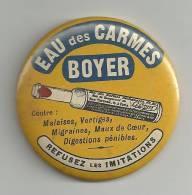 """Miroir De Poche """"EAU DES CARMES BOYER"""" - Publicité"""