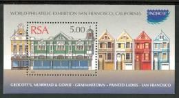 """1997 Sud Africa """"Pacific 97"""" Esposizione Filatelica  Block MNH** Spa106 - Blocchi & Foglietti"""