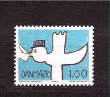 DENMARK 1984 Design Of A Child  Michel Cat N° 816  Mint No Gum - Childhood & Youth