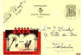 WEZEMAAL ( Rotselaar ) ENTIER POSTAL - Rotselaar