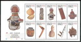 1997 Sud Africa Artigianato Handicraft Artisanat Block MNH** Spa111 - Blocchi & Foglietti