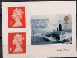 2001 Grossbritannien  GREAT BRITAIN  Yv. C 2248 Mi. Mi. 1932  **MNH Booklet Set - 1952-.... (Elizabeth II)