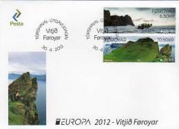 Faroe - Foroyar / Europa - Visit / FDC - Europa-CEPT