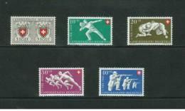 Suisse // Timbres Pro-Patria Neufs ** Série 1950 - Pro Patria