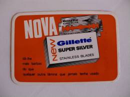 Gillette Portuguese Pocket Calendar 1967 - Calendriers