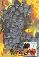 Romania Maxi Card / Grapes - Fruits