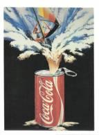 AM - ADVERTISING - PUBLICIDADE - COCA-COLA - SURFING COLA - 2 SCANS - Postcards