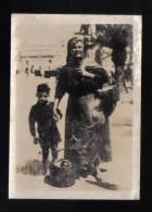 MALTA -  MALTESE LADY SELLING IN VALLETTA  MALTA - REAL PHOTOGRAPH - - Orte