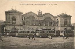 PARIS 14 - La Gare Montparnasse (tramways)    -- PPC 114 - Distretto: 14