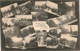 PARIS 14 - Un Bonjour Du Parc Montsouris (multivues)   -- LJ - District 14