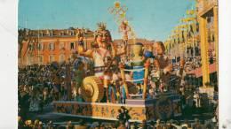 Br22125 Carnaval De Nice Sa Majeste Carnaval Roi Du Stade Olympique 2 Scans - Vari