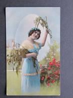 Frühlingsschöne Ostern Gelaufen 6.4.1914 - Pin-Ups