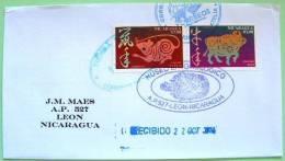 Nicaragua 2011 Cover Local - China Calendar Ox Rat - Nicaragua