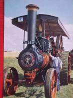 Cpa AGRICULTURE , TRACTEUR ANCIEN , MOTEUR à TRACTION  BURELL ROAD ENGINE Voir Détails    ** Achat Direct ** - Tractores