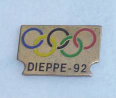 Pin's DIEPPE OLYMPIQUE 92  01 - Olympic Games