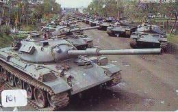 Télécarte WAR TANK (101)  MILITAIRY LEGER ARMEE PANZER Char De Guerre * KRIEG * Phonecard Army - Armee