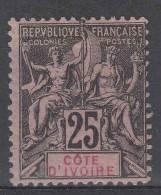 Cote D´Ivoire: Yvert 8, MH/*, CV Maury € 26 - Ivoorkust (1892-1944)