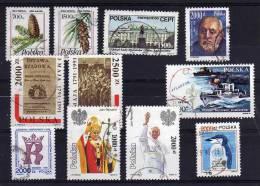 Poland - 1991 - 3 Sets & 5 Single Stamp Issues - Used - 1944-.... République