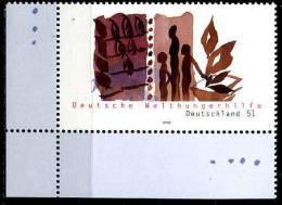 BRD - Michel 2271 ECKE LIU - ** Postfrisch (A) - Welthungerhilfe - Ongebruikt
