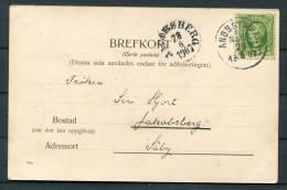1907 Sweden Steamship ANGBATS PXP Postcard