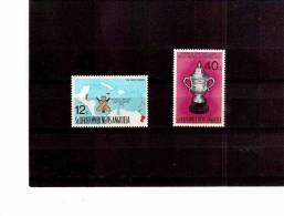 XX3672   -   ST.CHRISTOPHER-NEVIS-ANGU ILLA    -   COMPLETE MINT** SET   Y.T. Nr.  338/339 - Cricket
