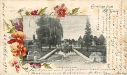 SAINT LOUIS GREETINGS FROM SAINT LOUIS VOYAGEE EN 1901 - St Louis – Missouri