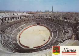 NÎMES 30, VUE INTERIEURE DES ARENES - Nîmes