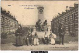 14804g HOSPICE CLEPIN - Vieux Ménages - Mons Station - 1906 - Mons