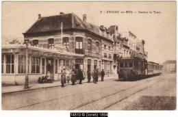 14810g STATION Du TRAM - CAFE - Knocke - Knokke