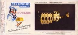 BUVARD  - FLAN LYONNAIS - N°9 Chateau De CHENONCEAUX - Food