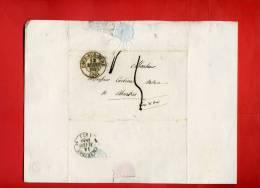 LETTRE MARS 1840 DE PACY SUR EURE A CHARTRES ECRITE A LOREY COMMUNE DE BREUILPONT - France