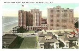Atlantic City. Ambassador Hotel And Cottages. - Atlantic City
