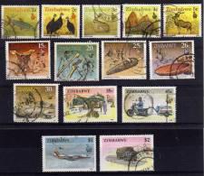 Zimbabwe - 1990 - Wildlife, Artefacts & Transport (Part Set) - Used - Zimbabwe (1980-...)