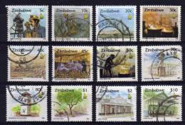 Zimbabwe - 1995/96 - Zimbabwe Culture (Part Set) - Used - Zimbabwe (1980-...)