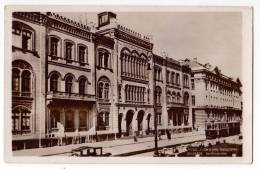 EUROPE SERBIA BEOGRAD THE UNIVERSITY AND TRAM OLD POSTCARD - Serbia