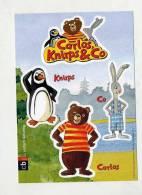 Carte Autocollant Pingouin Ours Lapin - Aufkleber