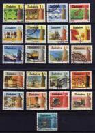 Zimbabwe - 1985 - National Infrustructure (Part Set, Perf 14½) - Used - Zimbabwe (1980-...)