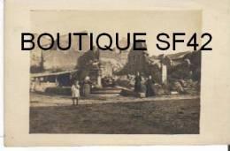 MENIL BELVTTE      CARTE PHOTO  RUINES GUERRE 1914/18 - Francia